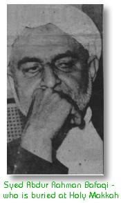 Sayyid Abdur Rahman Bafaqi
