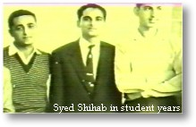 Shihab Thangal in student years
